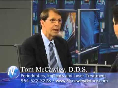 Dr. McCawley, Periodontist in Fort Lauderdale, FL on the Wellness Hour Discusses Laser Gum Treatment