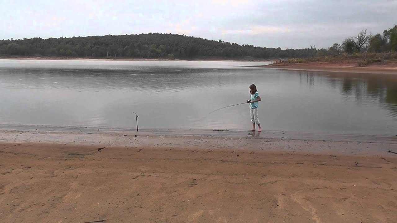 Fishing in lake keystone in prue oklahoma youtube for Keystone lake fishing report