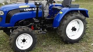 Купить Мини-трактор Foton/Lovol TE-244 с реверсом и широкой резиной minitrak.com.ua(, 2017-07-15T08:16:56.000Z)