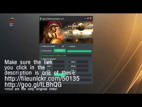 Age of Warring Empire Hack 2014