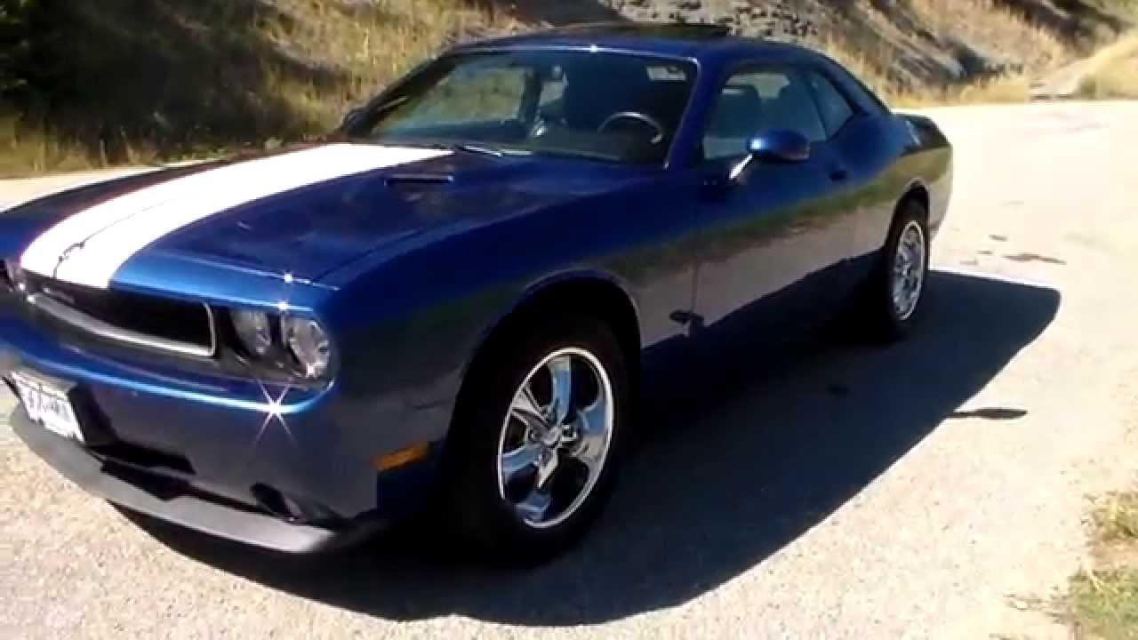 2010 Dodge Challenger For Sale >> Challenger 2010, Foose wheels, Deep Water Blue not for sale - YouTube