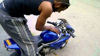 Me real 110cc 80kph fastest 110cc pocket bike