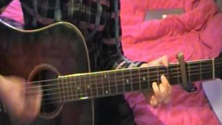 The Script - Breakeven - Guitar Cover