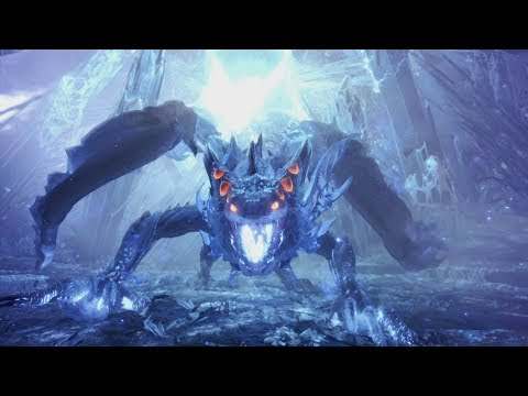 Monster Hunter World: Xeno'jiiva Final Boss Fight and Ending (Solo / Long Sword)
