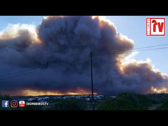 Incêndio Vilarinha - Aljezur