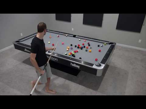 GIANT 8 Ball Rack: 45 Balls BREAK & RUN!!!