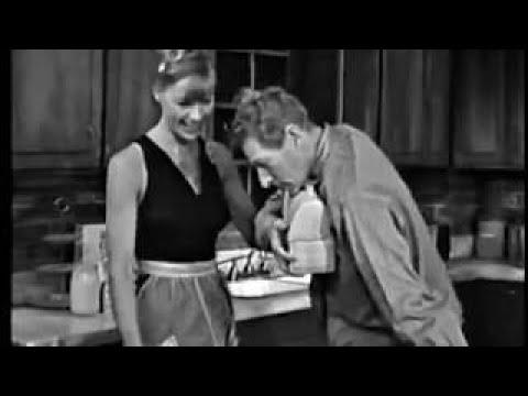 Nita Talbot, Louis Jourdan, Danny Kaye Jealousy Sketch, 1963 TV