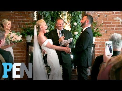 Inside Cancer Survivor & Sweet Valley High's Brittany Daniel's Wedding  PEN  Entertainment Weekly
