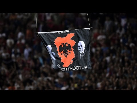 Serbia, Albania Soccer Game Abandoned After Drone Incident