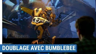 Transformers: The Last Knight - Doublage avec Bumblebee