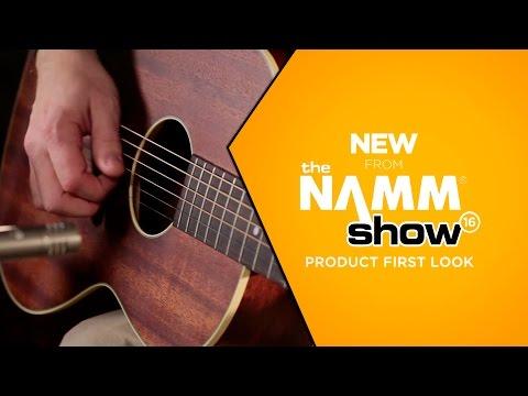 NAMM 2016 - Ibanez AVN5OPN Artwood Vintage Parlor Acoustic Guitar