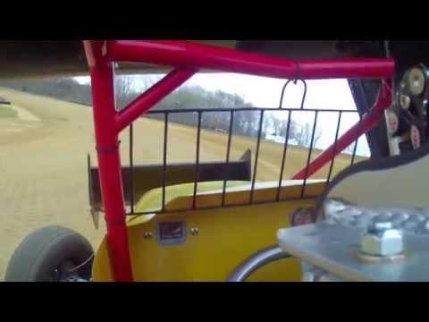 Travis Howard Spoon River Speedway 4/12/15 Practice 1