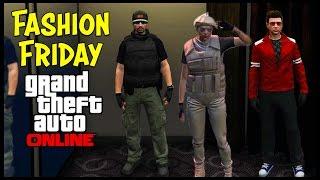 GTA 5 Online FASHION FRIDAY! (The Justice, Female Desert Operator, Kylo Ren & More)