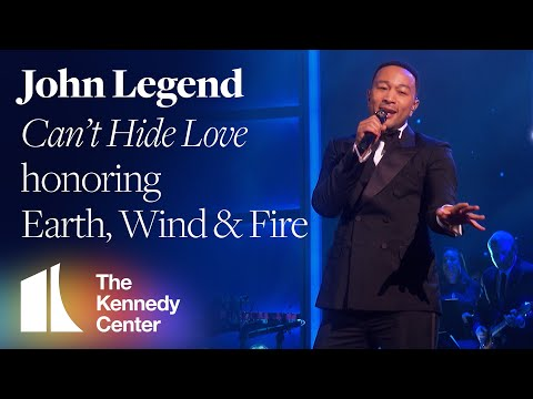 "John Legend - ""Can't Hide Love"" (Earth, Wind & Fire Tribute) | 2019 Kennedy Center Honors"