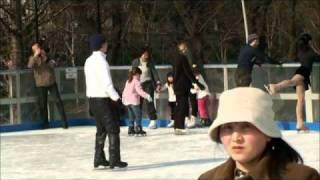 2011年2月27日(日)に六本木のシティアイスリンクで開催された、荒川静...
