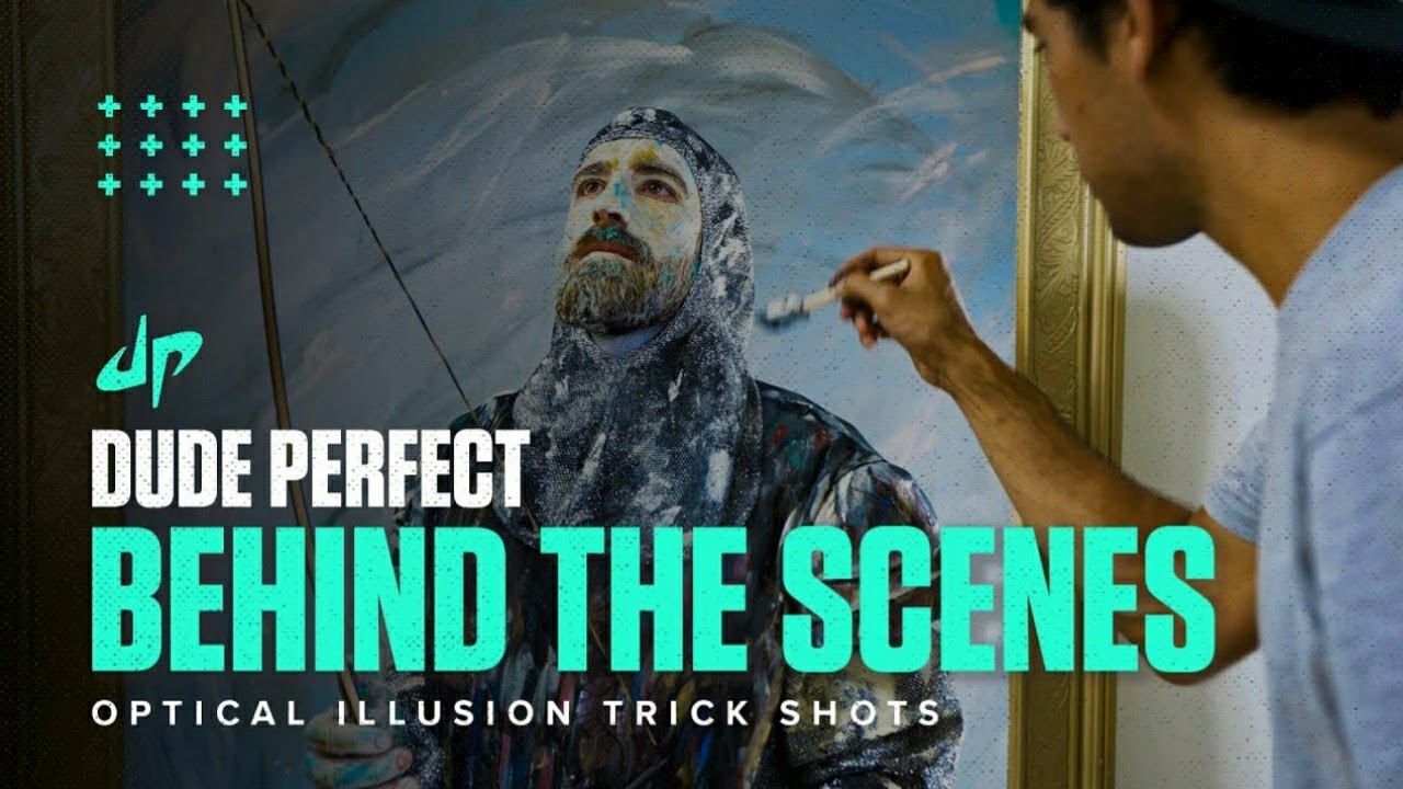 Download Behind The Scenes | Optical Illusion Trick Shot | Bloopers.