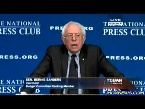 """Corporate America Is Going To Have To Start Investing In The U.S. NOT CHINA!"" Bernie Sanders"