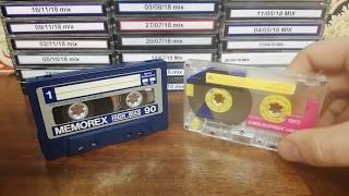 Memorex Cassettes - Trash Or Treasures?