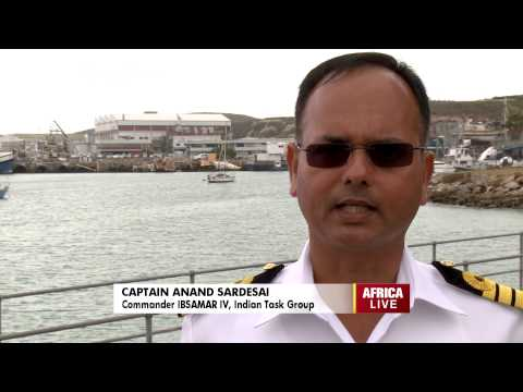 South Africa Plays Host to Joint Navies Exercise
