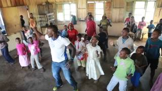 ZUMBA FITNESS WITH MAGIC MIKE AT TEULE CHILDRENS HOME