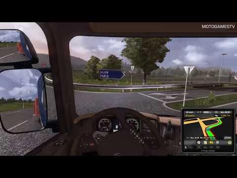 Euro Truck Simulator 2 - Geneve - Paris Mission