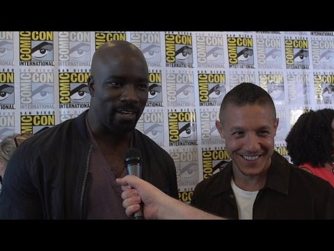 Comic-Con 2016: LUKE CAGE - Mike Colter and Theo Rossi Interview