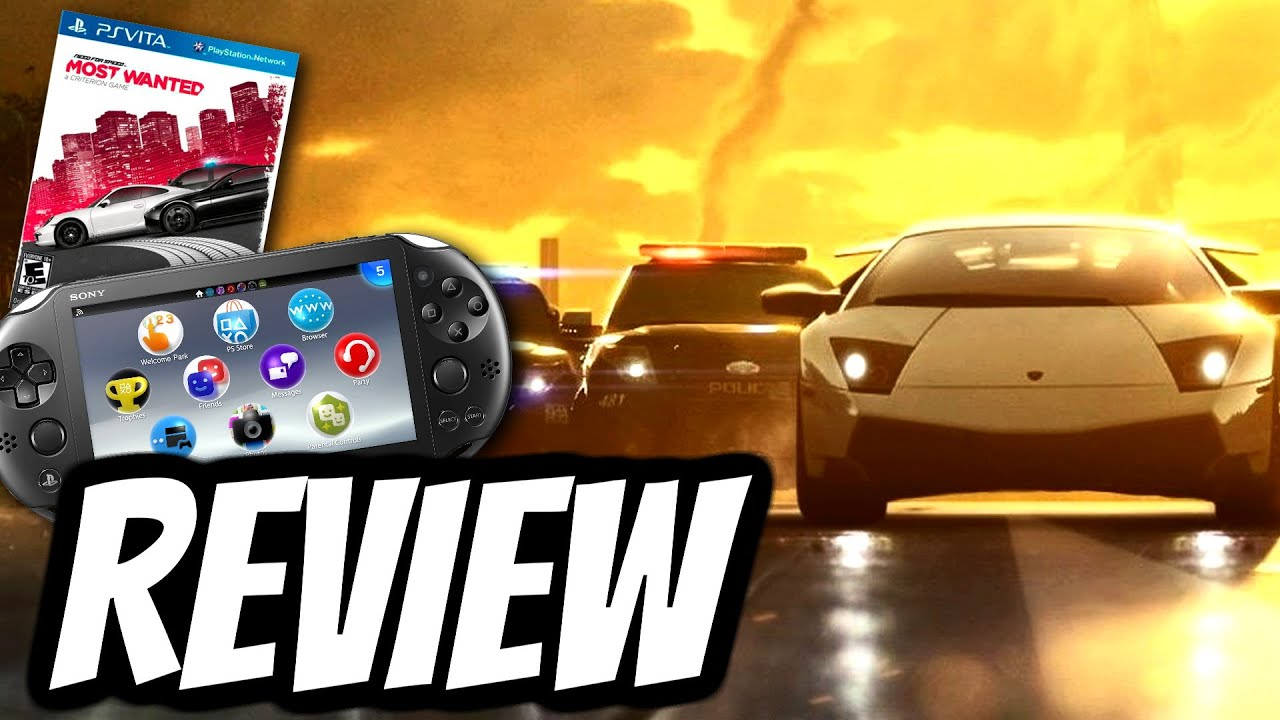 need for speed most wanted playstation vita review ps. Black Bedroom Furniture Sets. Home Design Ideas