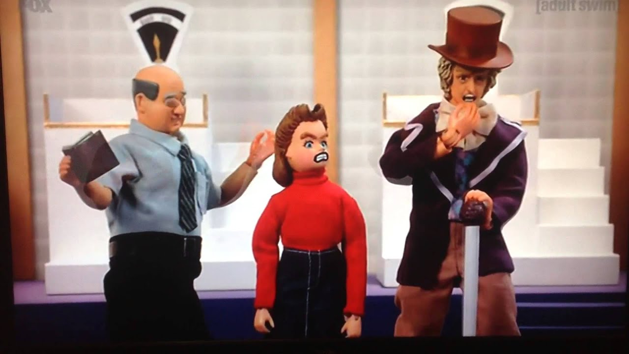 robot chicken willy wonka and the chocolate factory spoof