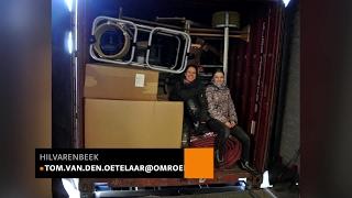 Stagiaire Inge van Kemenade uit Hilvarenbeek vliegt met container vol sporttoestellen naar Gambia