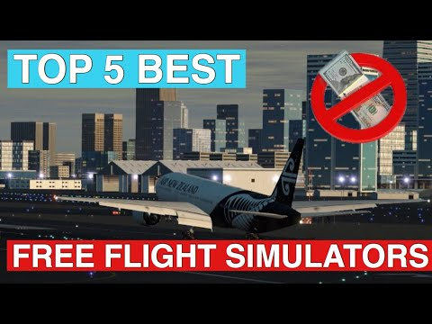 Top 5 BEST FREE Flight Simulators Of 2019 For IOS And Android