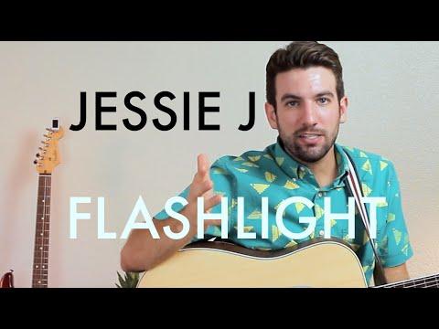 Jessie J - Flashlight (Guitar Lesson/Tutorial)