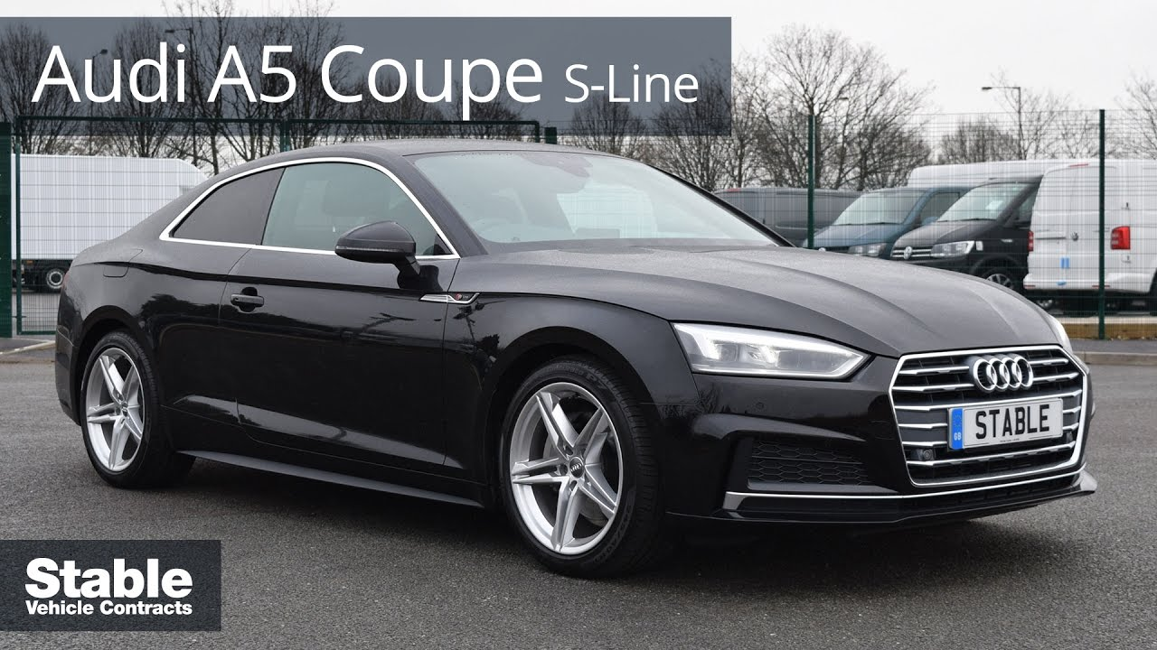 2017 Audi A5 Coupe S Line Walkaround Stable Lease Youtube