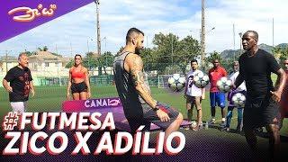 Futmesa Histórico!! Zico x Adílio (e outros jogos com as lendas do Flamengo) Desafio #2