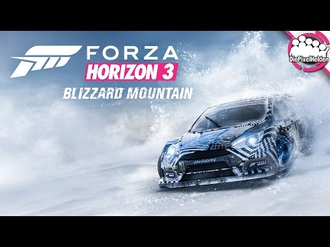 BLIZZARD MOUNTAIN #1 - Willkommen auf dem Berg! - Forza Horizon 3 Blizzard Mountain