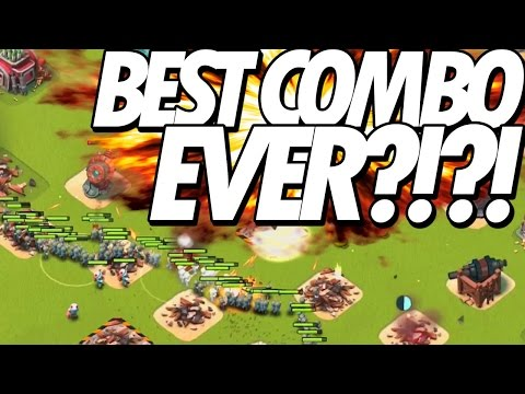 Clash of Clans | TH8 Best Troops Combination for loot | 4 Pekka + 22 Wiz + 3 Heal | Draggeron COC