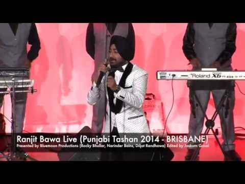 Ranjit Bawa Live | Punjabi Tashan Brisbane 2014 | Bluemoon Productions | Gosal Music