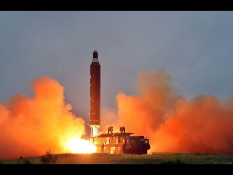 North Korea Releases Video Simulation of US-Bound Missile - American Flag Burning in a Cemetery!