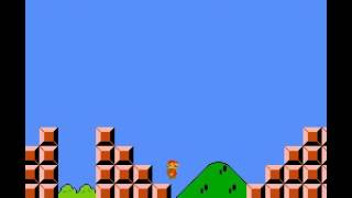 Super Mario Bros - Super Mario Bros : the first level - User video