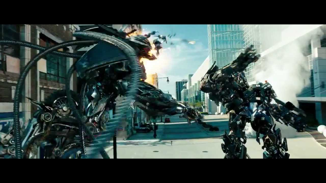 Transformers 3 Dark Of The Moon Ironhide And Sideswipe Vs