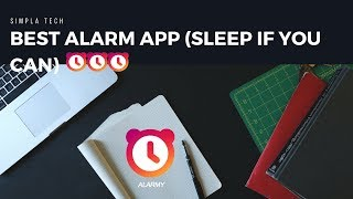 Best Android Alarm App (sleep if you can) -Hindi