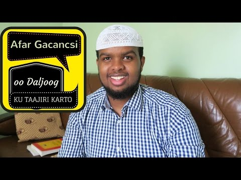 Dhalinyaro Afar- tan Ganacsi ka shaqayso