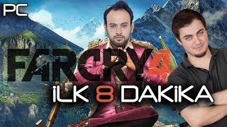 Far cry 4 (pc/msi ge60) - oynuyoruz [İlk 8 dakika]
