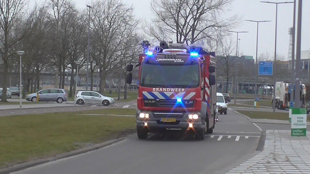Groene Tuin Rotterdam : Brandweer mijnsherenlaan groene tuin rotterdam naar een