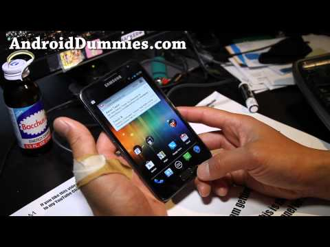 How To Kill Apps Using Android ICS Built-in Task Manager! [AndroidDummies]