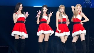 BLACKPINK Rudolph the red nosed reindeer + Jingle Bell Rock + Last Christmas at Kyosera HD