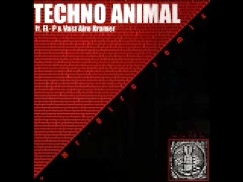 Techno Animal - We Can Build You feat. el-p & Vast Aire