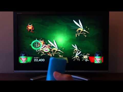 Baygon-Spray bugs interactive game (Demo2)
