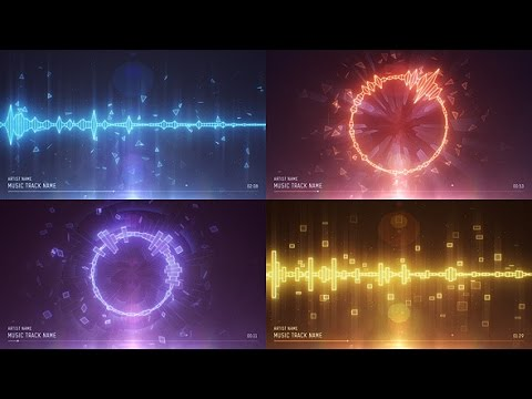 Audio Spectrum Music Visualizer (After Effects Template)