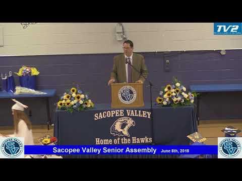 2018 Sacopee Valley High School Senior Assembly