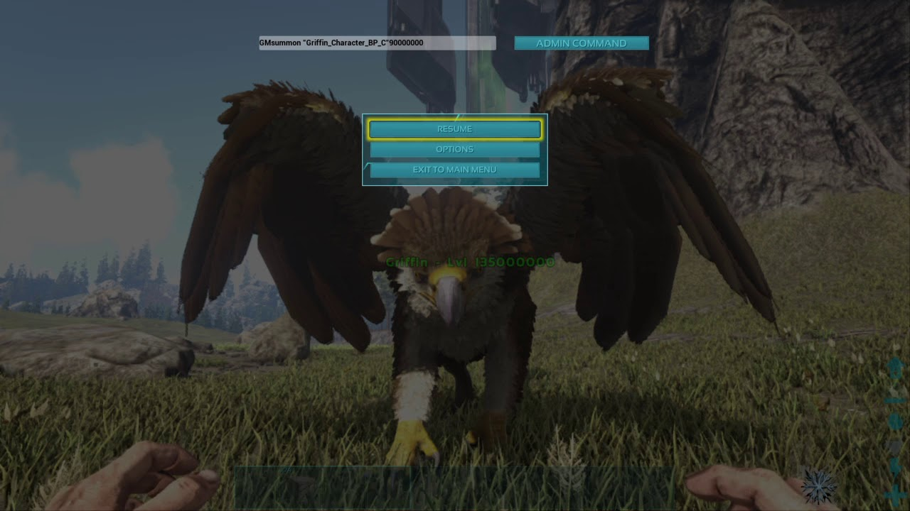 ARK-How To Summon Series- Hot to summon a Griffin